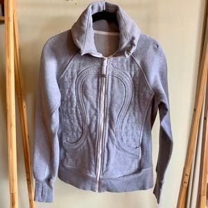 NWOT Lululemon Gray Stride I Jacket Size 6